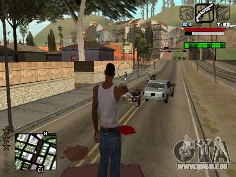 Nice C-HUD für GTA San Andreas