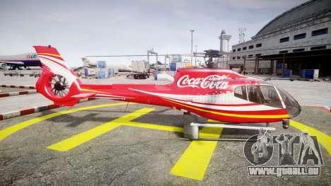 Eurocopter EC130 B4 Coca-Cola für GTA 4 linke Ansicht