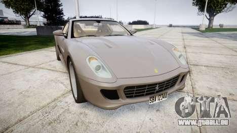 Ferrari 599 GTB 2006 Hamann pour GTA 4