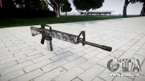 Le M16A2 fusil de sibérie pour GTA 4