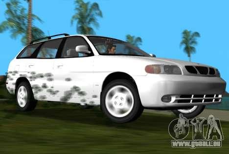 Daewoo Nubira I Wagon CDX US 1999 pour GTA Vice City sur la vue arrière gauche