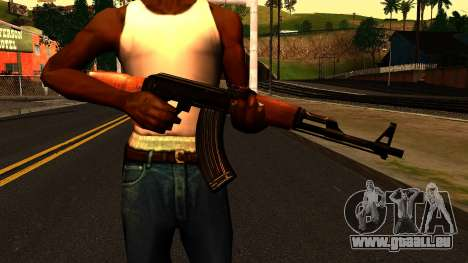 AK47 from Chernobyl 3: Underground für GTA San Andreas dritten Screenshot