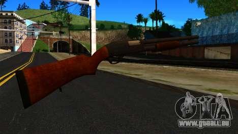 En bois MP-133 Silver pour GTA San Andreas deuxième écran