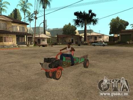 Batmobil für GTA San Andreas