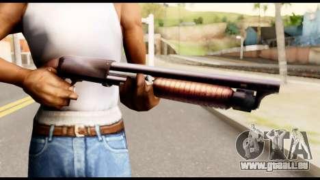 M37 from Metal Gear Solid für GTA San Andreas dritten Screenshot