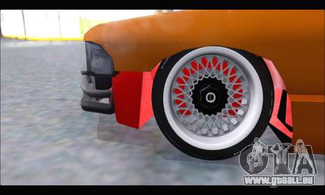Taxi Extreme Tuning (Hellalfush) pour GTA San Andreas vue intérieure