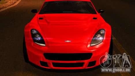 GTA 5 Dewbauchee Rapid GT Coupe [IVF] pour GTA San Andreas vue de droite