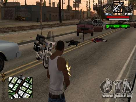 Nice C-HUD für GTA San Andreas dritten Screenshot