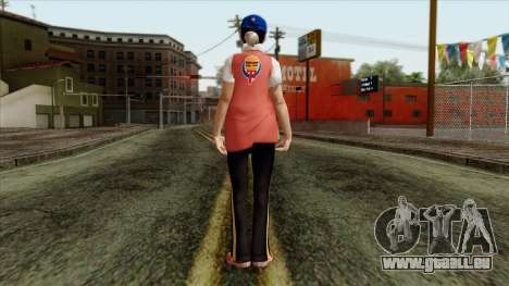 GTA 4 Skin 81 pour GTA San Andreas deuxième écran