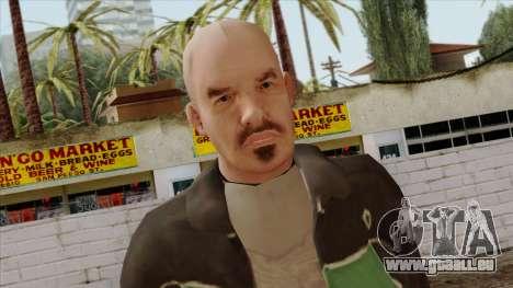GTA 4 Skin 60 pour GTA San Andreas troisième écran