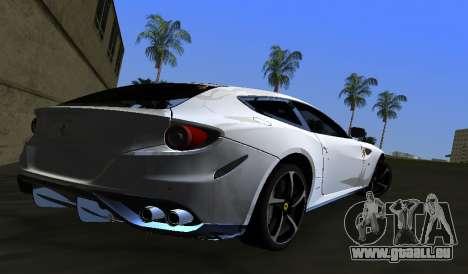 Ferrari FF pour une vue GTA Vice City de la gauche