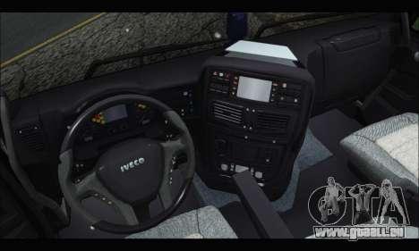 Iveco Trakker 2014 Snow (IVF & ADD) für GTA San Andreas rechten Ansicht