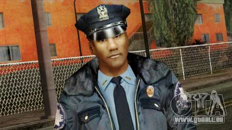 Police Skin 11 pour GTA San Andreas troisième écran