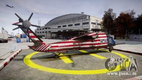 Sikorsky MH-X Silent Hawk [EPM] Freedom pour GTA 4 est une gauche