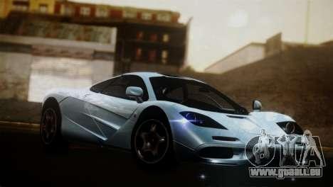 McLaren F1 Autovista pour GTA San Andreas