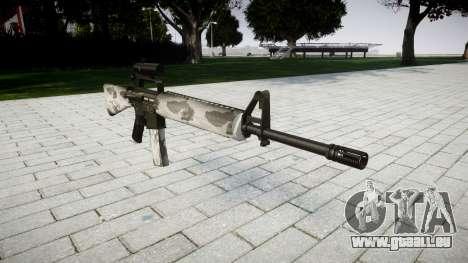 Le M16A2 fusil [optique] yukon pour GTA 4