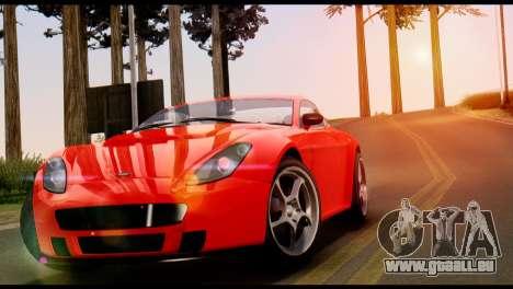 GTA 5 Dewbauchee Rapid GT Coupe [IVF] für GTA San Andreas