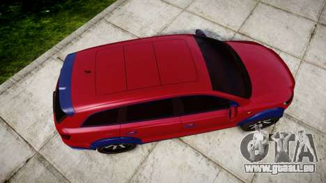 Audi Q7 2009 ABT Sportsline pour GTA 4 est un droit