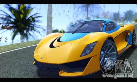 Grotti Turismo R v2 (GTA V) (IVF) für GTA San Andreas