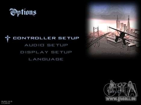 De nouveaux écrans de chargement pour GTA San Andreas