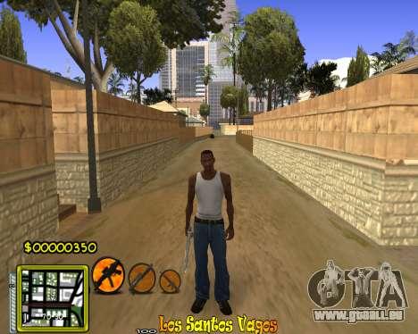 C-HUD Vagos Gang pour GTA San Andreas troisième écran