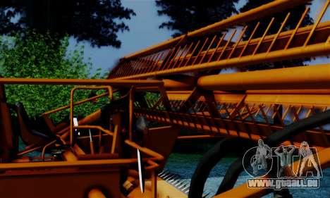 FMZ BIZON Super Z056 1985 Orange pour GTA San Andreas vue de droite