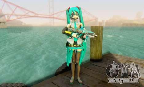 Hatsune Miku Dreamy Theater für GTA San Andreas zweiten Screenshot