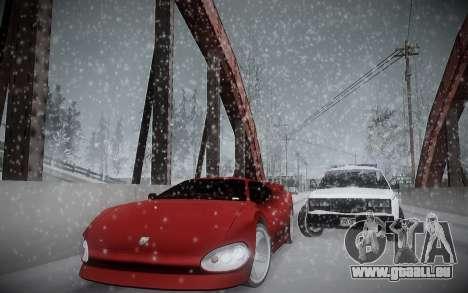 L'Hiver ENBSeries pour GTA San Andreas quatrième écran