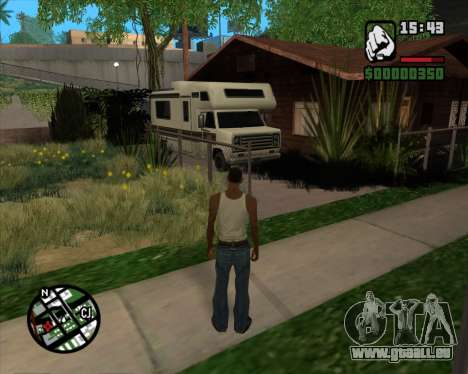Camping Änderung - Beta-Version für GTA San Andreas her Screenshot