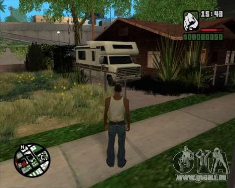 Camping Änderung - Beta-Version für GTA San Andreas her Screenshot