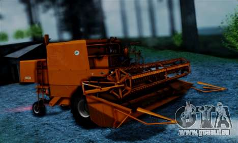 FMZ BIZON Super Z056 1985 Orange pour GTA San Andreas