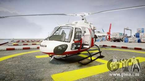 Eurocopter AS350 Ecureuil Aguia 11 PMESP pour GTA 4