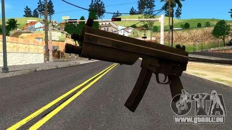 MP5 from GTA 4 für GTA San Andreas