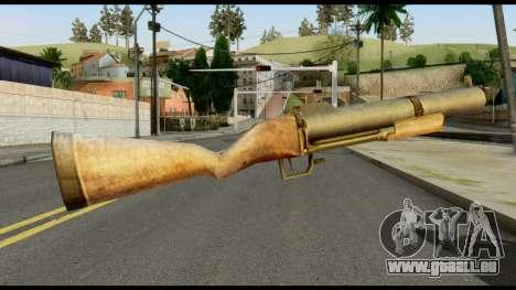 M79 from Max Payne pour GTA San Andreas deuxième écran