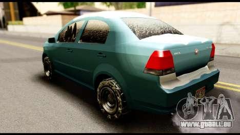 GTA 5 Asea pour GTA San Andreas laissé vue