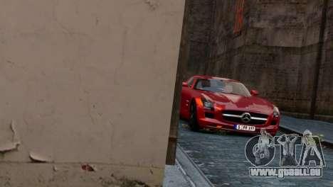 Mercedes-Benz SLS AMG 2011 [EPM] pour GTA 4 est un droit