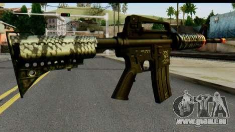 Kill Em All M4 pour GTA San Andreas deuxième écran
