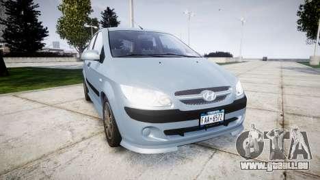 Hyundai Getz 2006 for ENB pour GTA 4