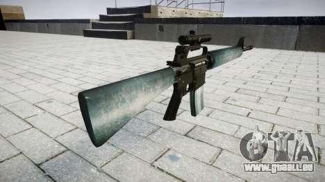 Die M16A2 Gewehr [optisch] icy für GTA 4 Sekunden Bildschirm