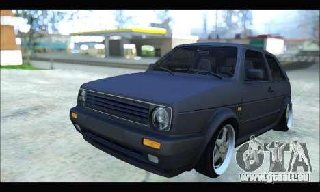 VW Golf MK2 für GTA San Andreas