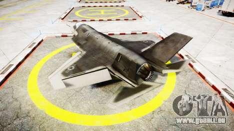 Lockheed F-35B Lightning II pour GTA 4 est une gauche
