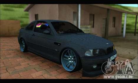 BMW M3 E46 Carbon pour GTA San Andreas