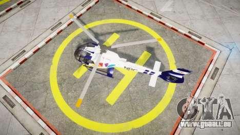 Eurocopter EC130 B4 NBC für GTA 4 rechte Ansicht