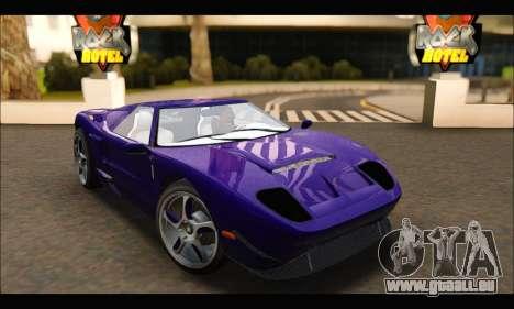 Vapid Bullet Gt (GTA IV TBoGT) (IVF) pour GTA San Andreas