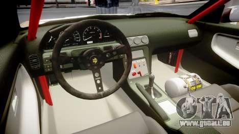 Nissan 240SX Sil80 MikeMasse Edition für GTA 4 Innenansicht
