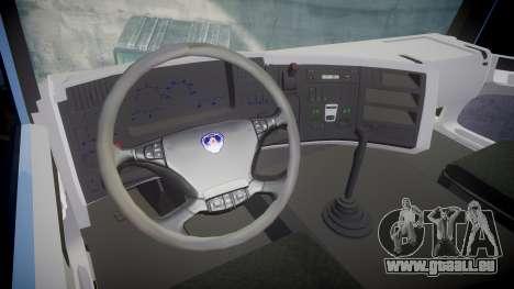Scania 94G 300 pour GTA 4 Vue arrière