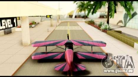 Beta Stuntplane pour GTA San Andreas vue intérieure