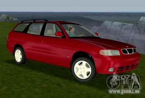Daewoo Nubira I Wagon CDX US 1999 pour GTA Vice City