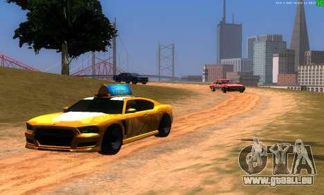 De nouvelles voies de transport pour GTA San Andreas deuxième écran