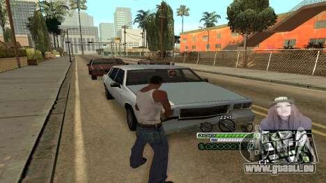 C-HUD Obey für GTA San Andreas dritten Screenshot